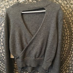 NWT Design Lab Wrap Cut Out Sweater 💕💕